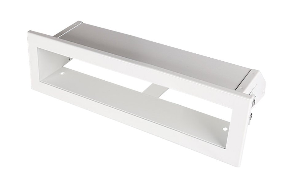 Luchtrooster 200x60mm wit VP-OPEN