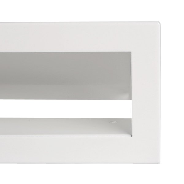 Luchtrooster 600x60mm wit VP-OPEN