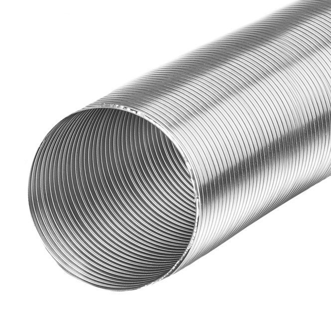 Aluminium flexibele slang Ø100mm - 3 meter