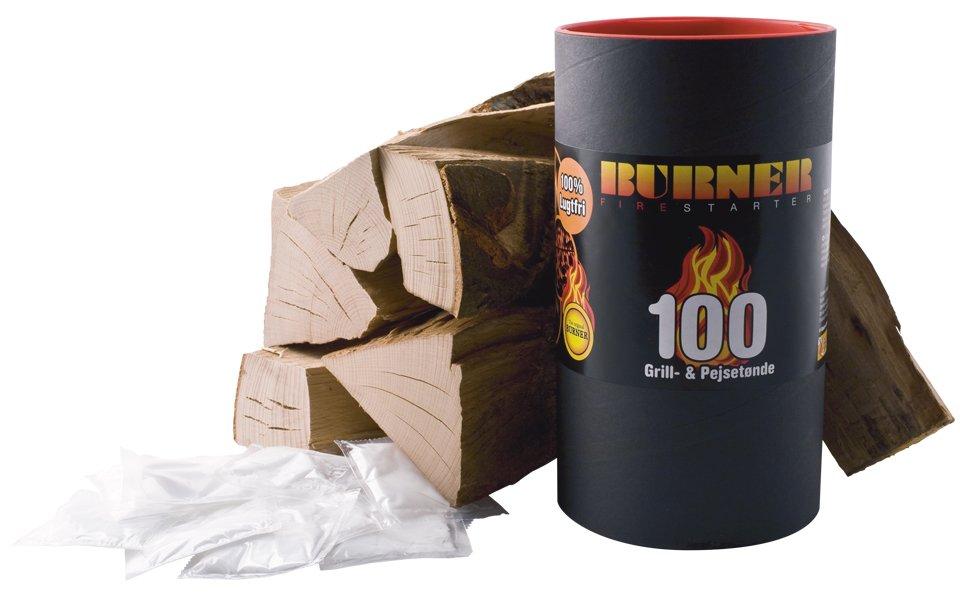 Aansteekzakjes V-BURNER 100 stuks