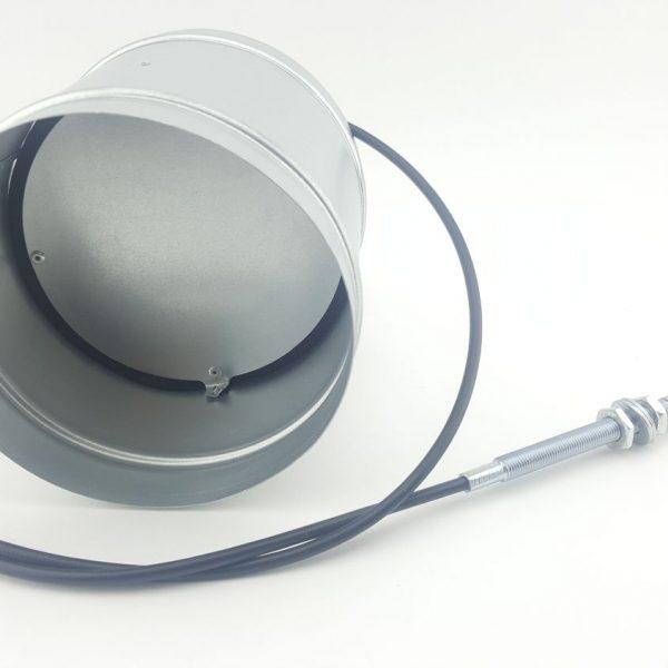 Regelklep PRO Ø125mm met kabel en afdichting