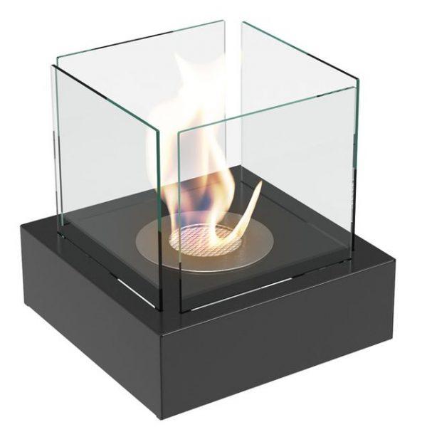 Bio-ethanol tafelhaard MOODFLAME 3 zwart