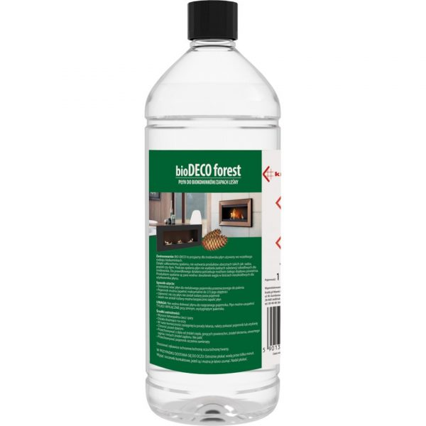 Bio-ethanol fles FOREST 1 liter voor MOODFLAME