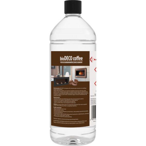 Bio-ethanol fles COFFEE 1 liter voor MOODFLAME