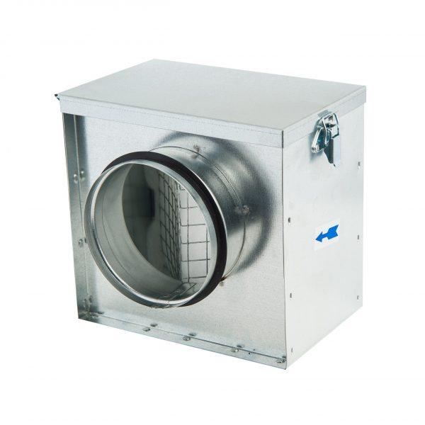 Filterbox Ø125mm inclusief gratis filter